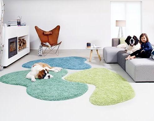 Billig gulv tæppe