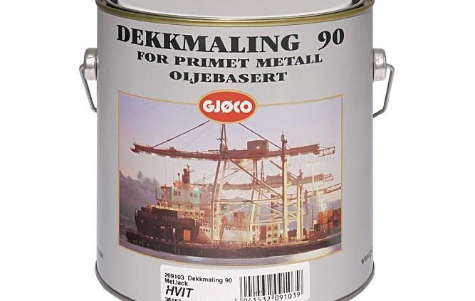 Gjøco D90, Metal Maling