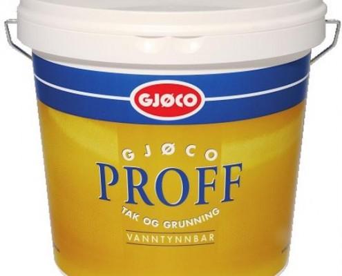 Gjøco proff 02 loftmaling