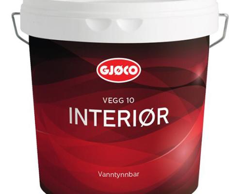 Gjøco Interiør 10 Vægmaling