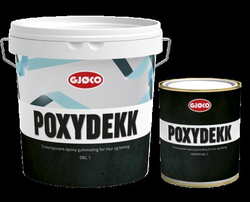 Gjøco Epoxy Gulvmaling Poxydekk
