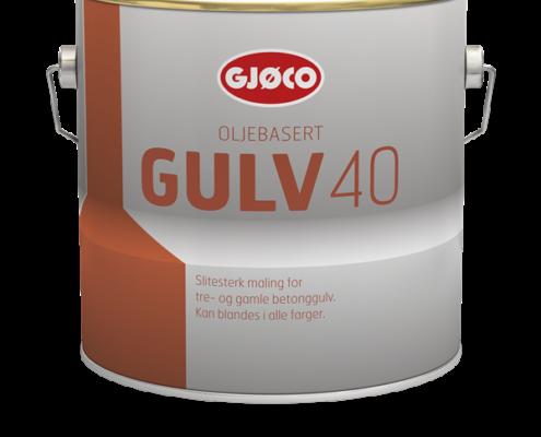 Gjøco Gulv 40 Gulvmaling