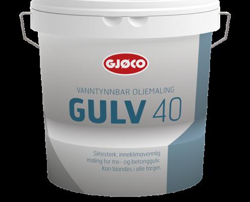 Gjøco Gulvmaling 40 Vandbaseret