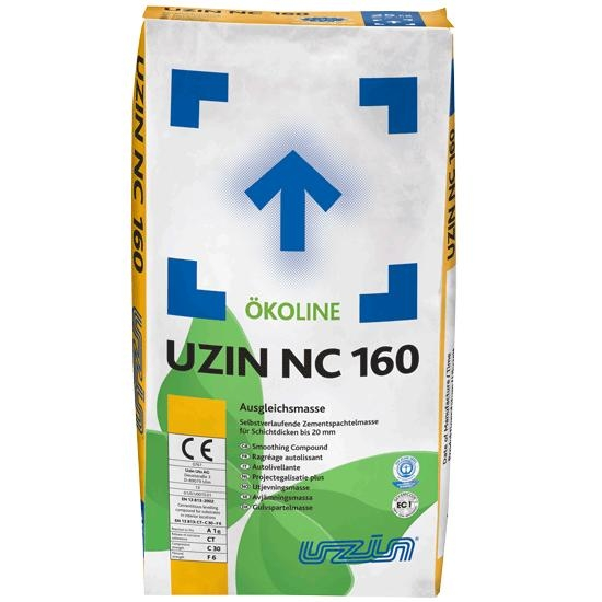 UZIN NC 160 Selvnivellerende Spartelmasse 25 Kg.
